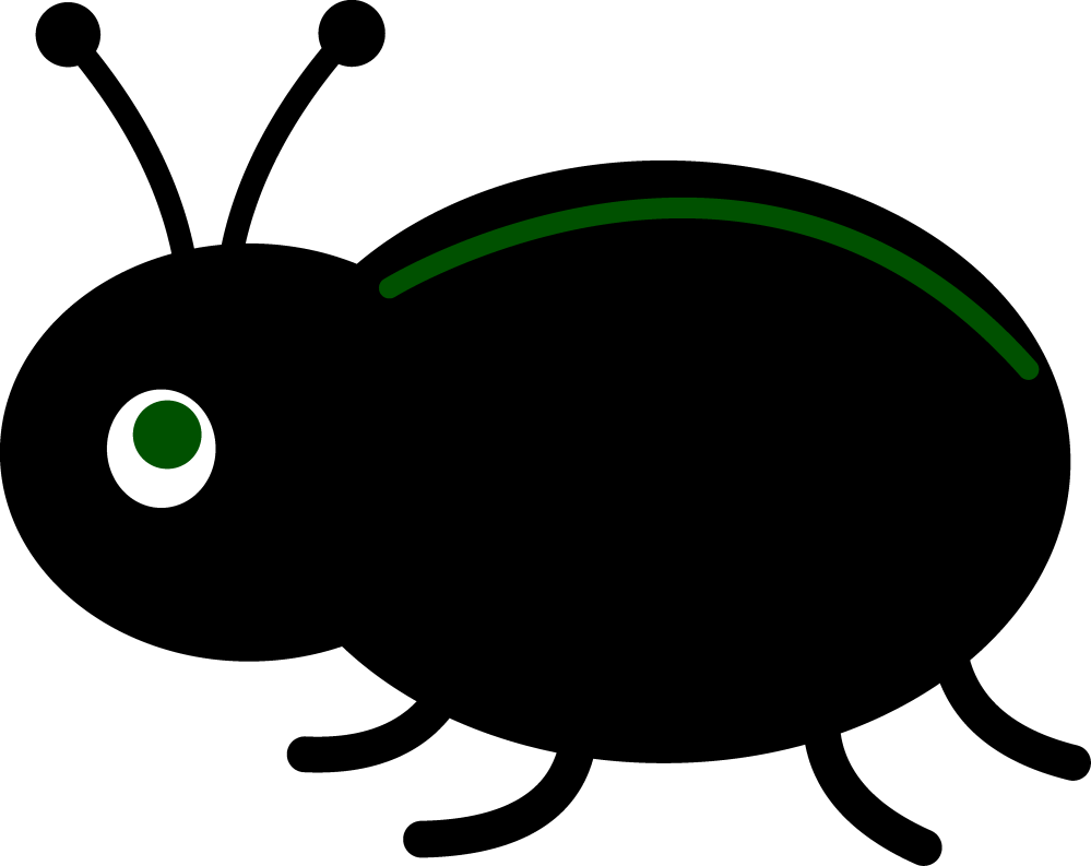 medium resolution of little black beetle free clip art