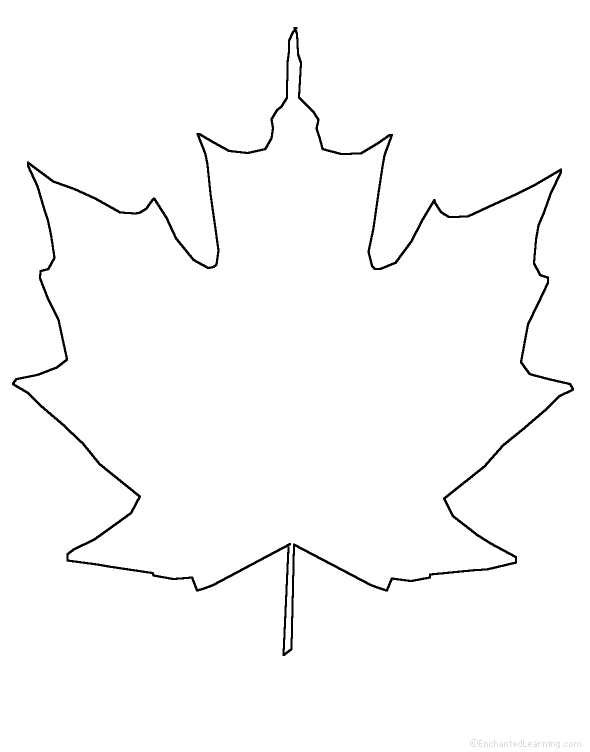 Free Maple Leaf Outline, Download Free Clip Art, Free Clip