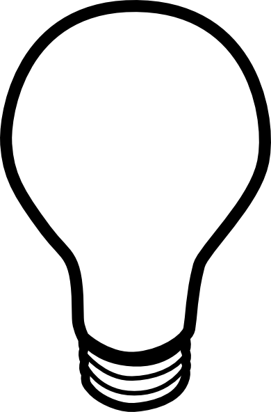 Free Light Bulb, Download Free Clip Art, Free Clip Art on