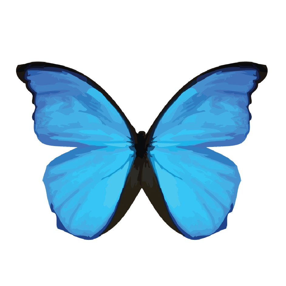 I Letter 3d Wallpapers Free Blue Butterfly Download Free Clip Art Free Clip Art