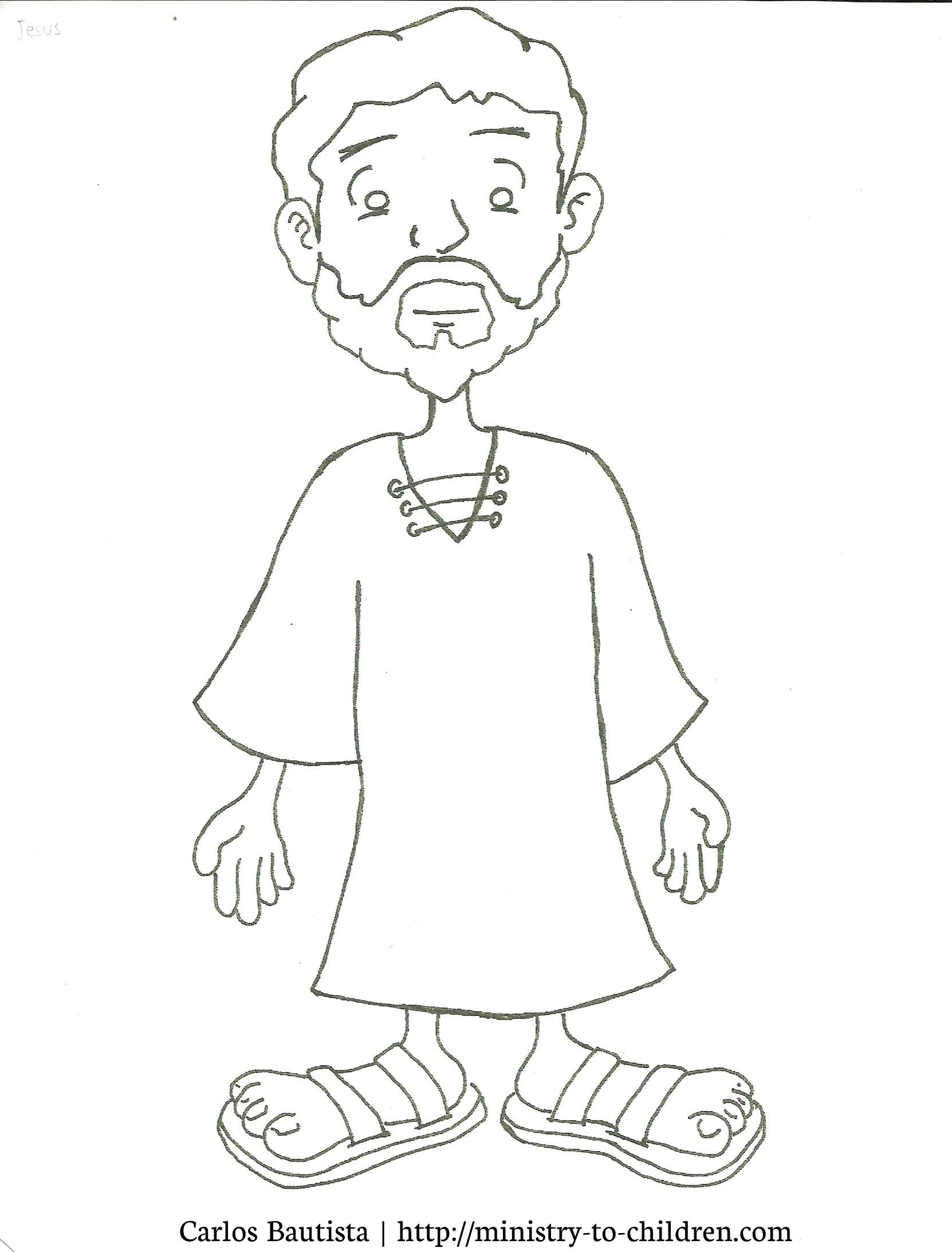Free Jesus Cartoon For Kids, Download Free Clip Art, Free