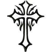 cool christian crosses - clipart