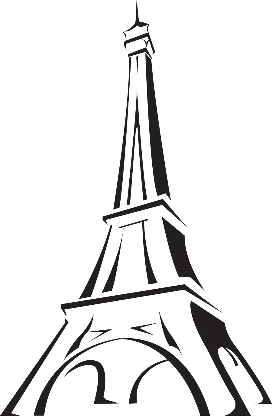 medium resolution of torre eiffel png clipart library