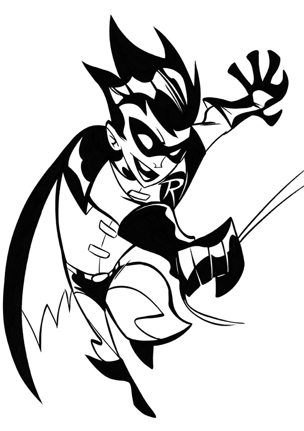 Free Batman Printable Coloring Pages, Download Free Batman