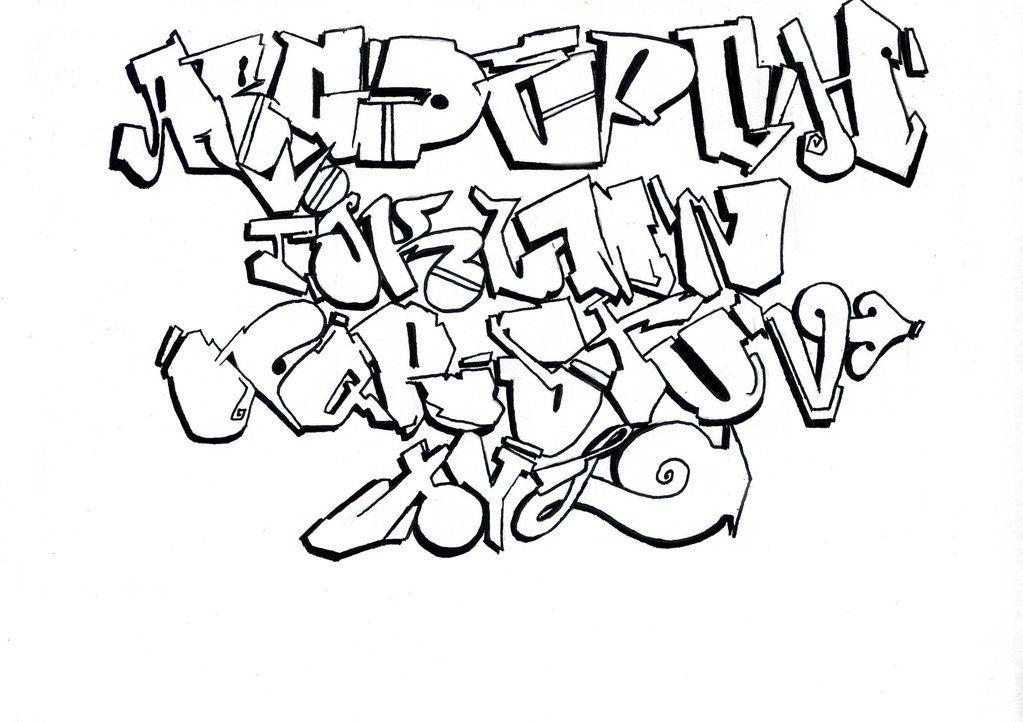 Gangsta On Alphabet Graffiti Design Tattoo Page 10