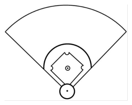 Free Baseball Diamond Diagram, Download Free Clip Art