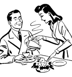 pix for happy husband and wife clipart [ 1350 x 1148 Pixel ]