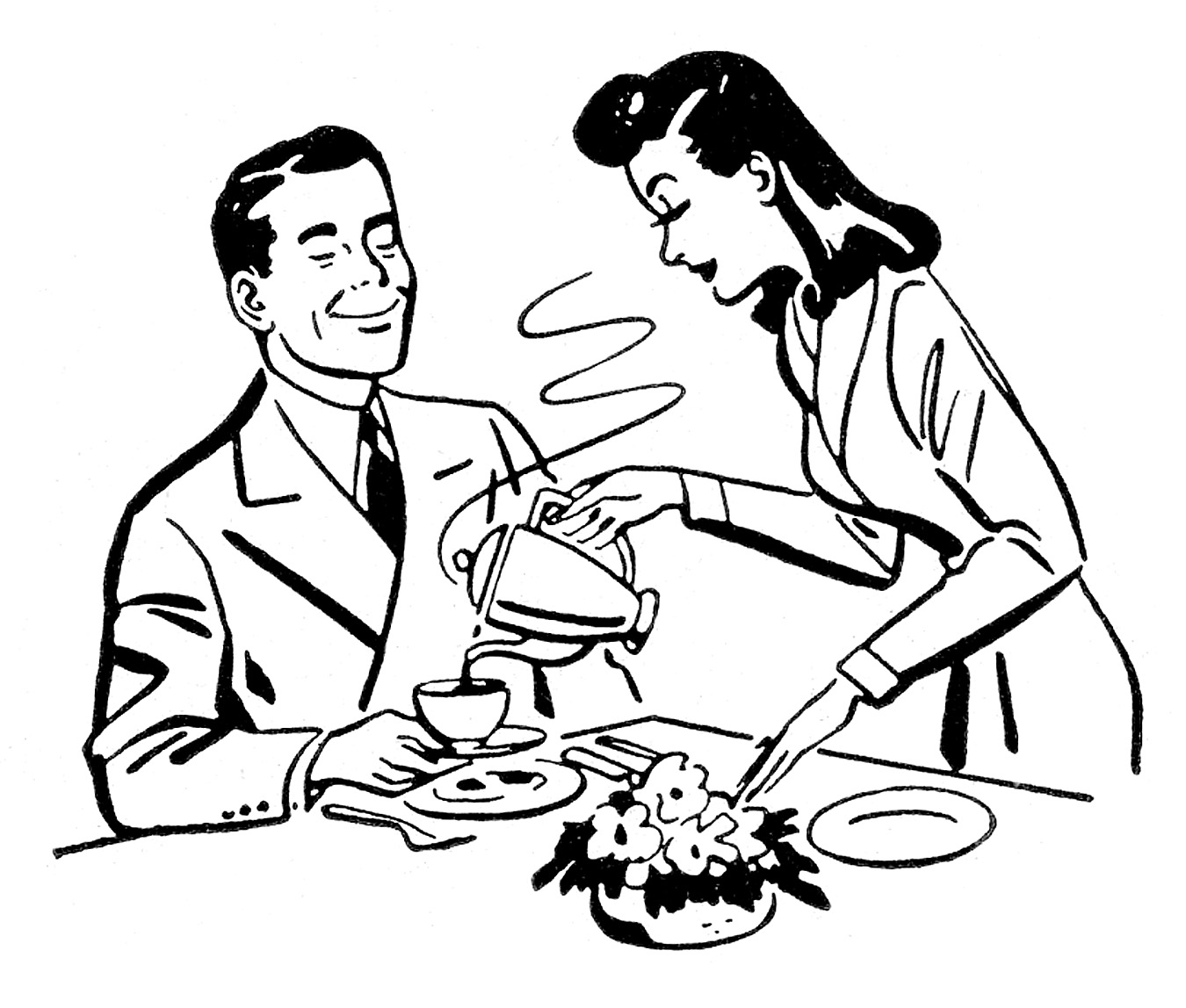 hight resolution of pix for happy husband and wife clipart