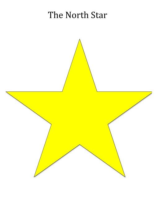 small resolution of north star shape for teaching seasons unawe