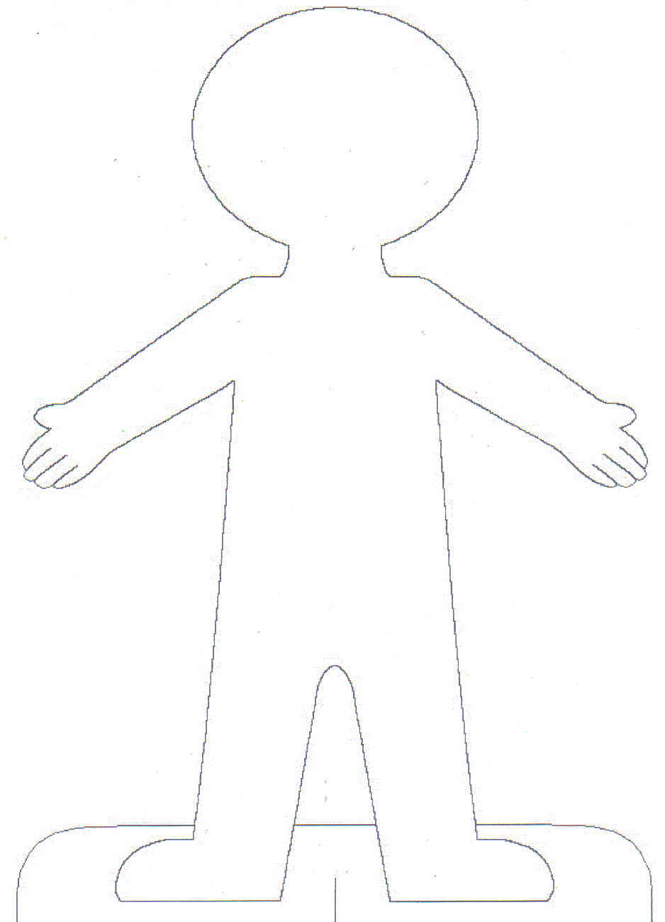 Free Blank Person Template, Download Free Clip Art, Free