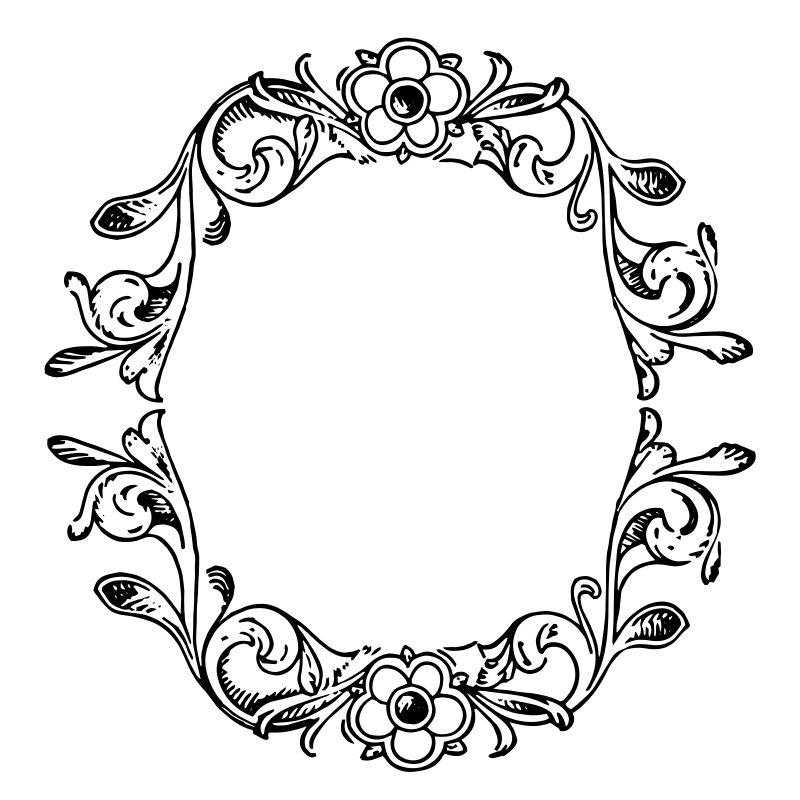 Free Floral Border Vector, Download Free Clip Art, Free