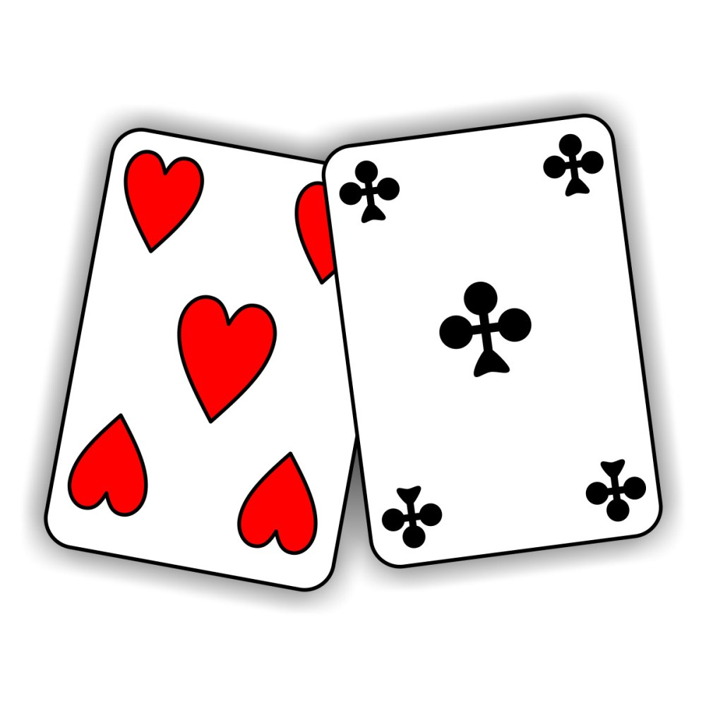 medium resolution of image of playing cards clipart library