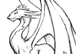 drawings cool easy background wallpapers dragon drawing draw clipart backgrounds clip funny