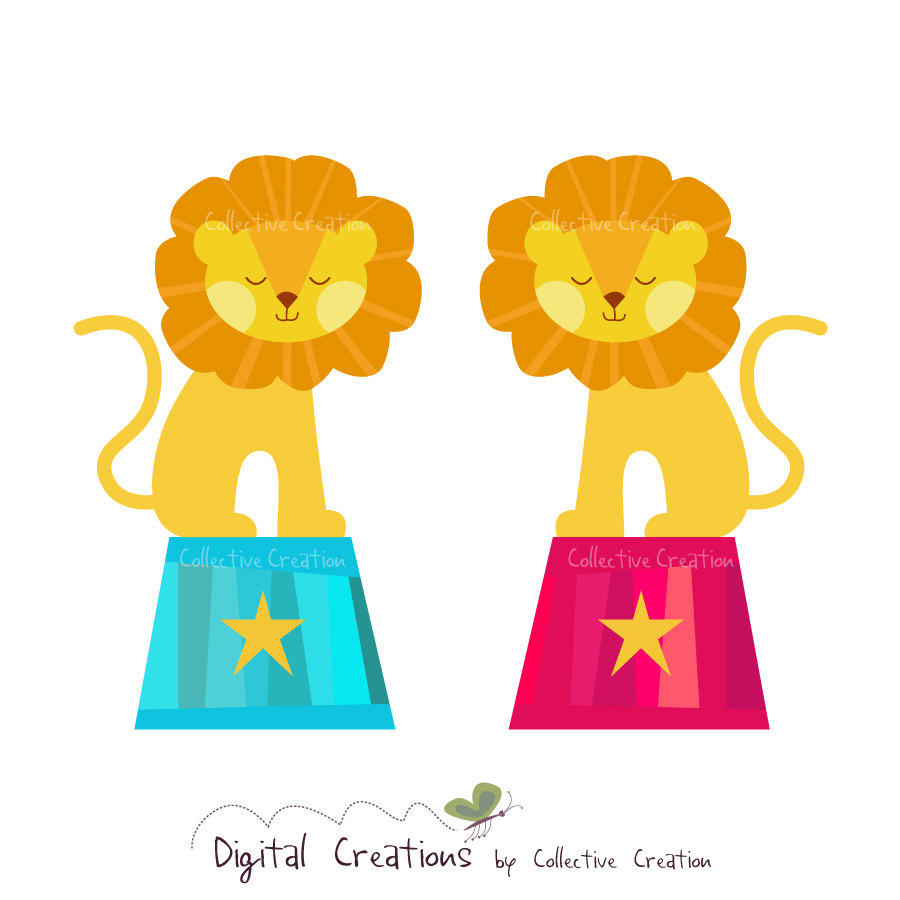 hight resolution of popular items for lion clip art on etsy