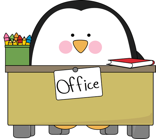 office desk clipart free