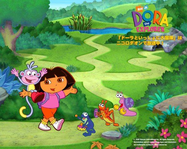 Dora Explorer Wallpaper Hd Cartoons