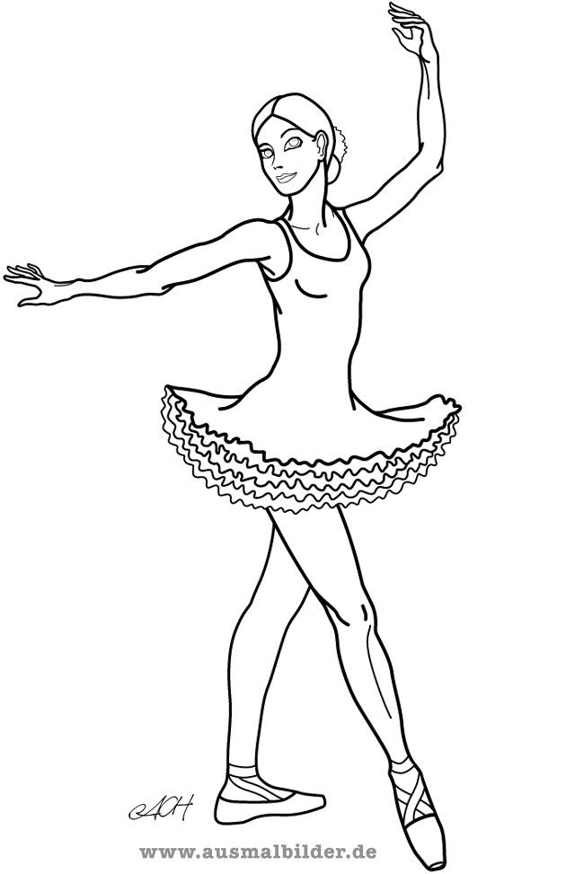Ballet dancer - Clip Art Library