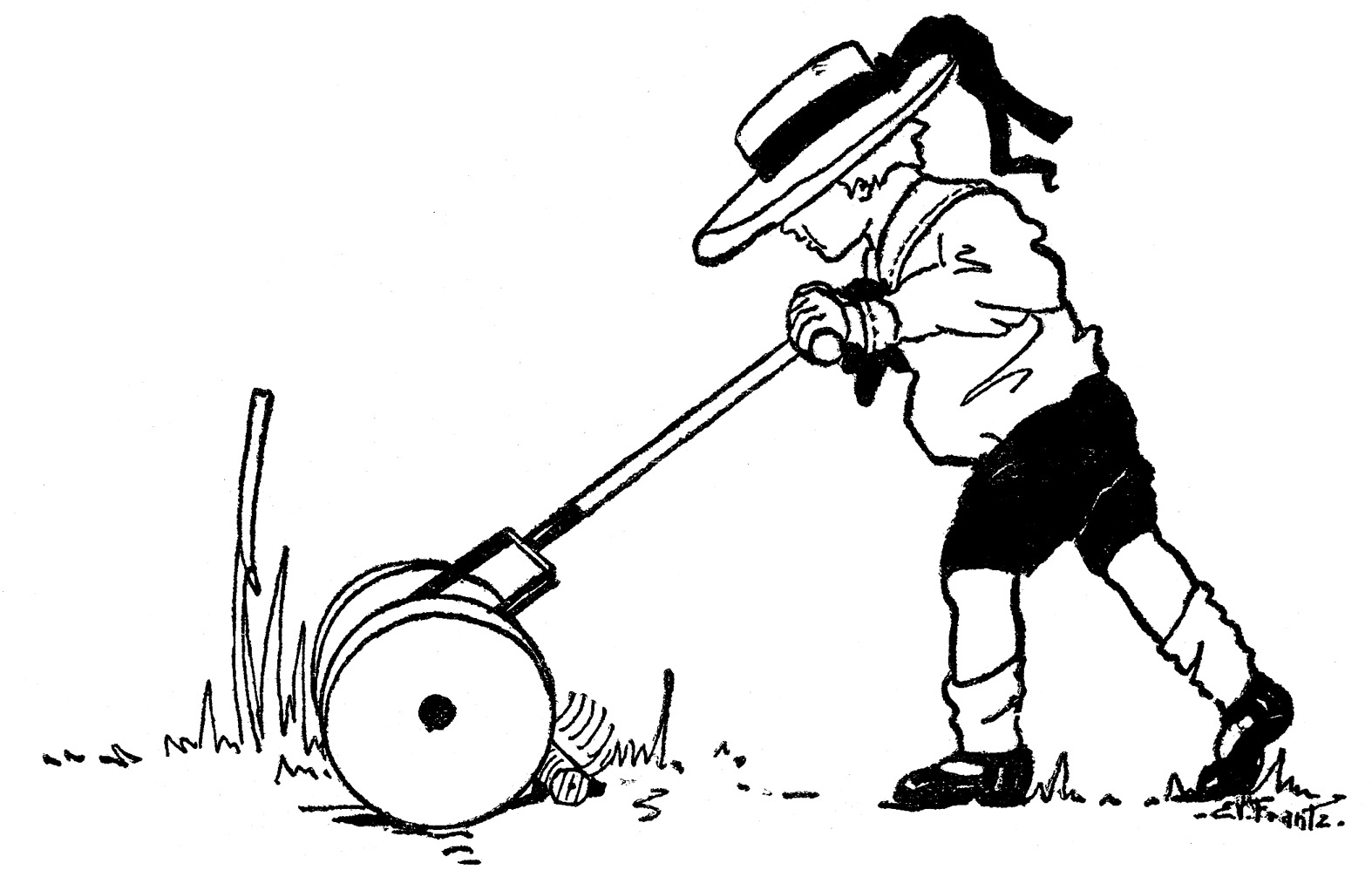 Free Lawn Mower Image, Download Free Clip Art, Free Clip