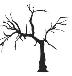 saraccino tree stencil [ 1200 x 900 Pixel ]