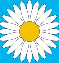 daisy clipart clip art clip art free clip art borders clip [ 1200 x 1200 Pixel ]