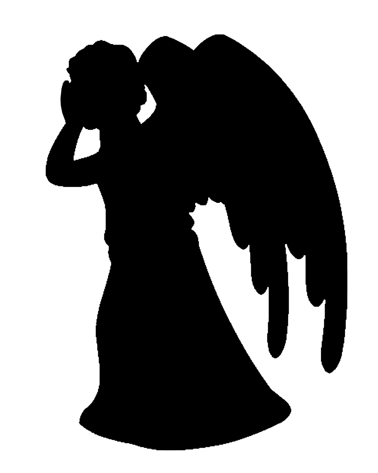 hight resolution of doodlecraft doctor who stencil silhouette outline clipart mania