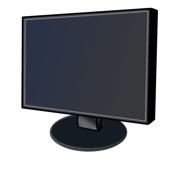 Art Clip Monitor Computer Screen