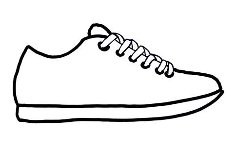 Free Outline Of A Shoe, Download Free Clip Art, Free Clip