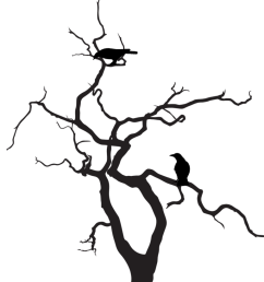 silhouette tree art clipart library [ 768 x 1024 Pixel ]