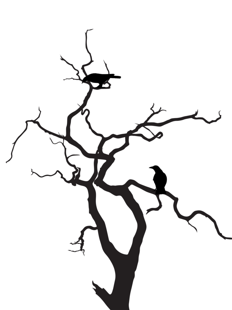 hight resolution of silhouette tree art clipart library