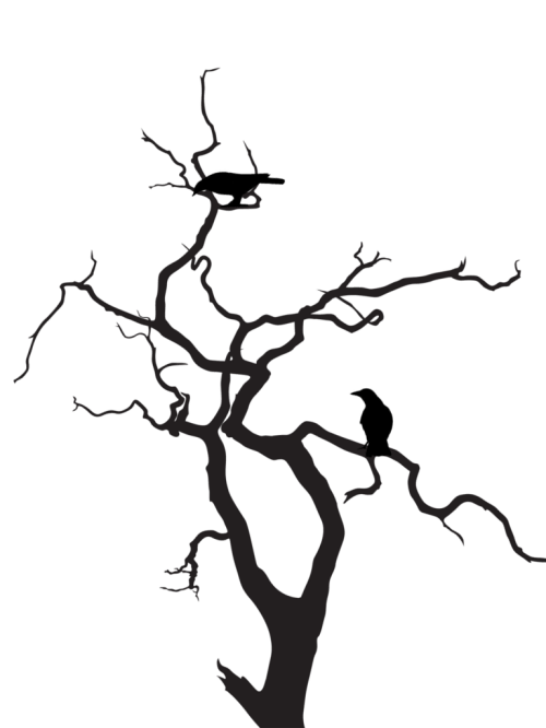 small resolution of silhouette tree art clipart library