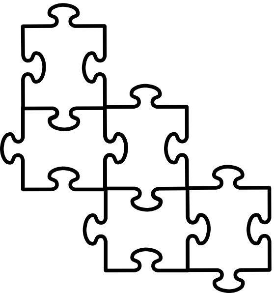 Free Puzzle Pieces Template, Download Free Clip Art, Free Clip Art ...