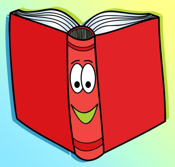 Reading Books Clip Art Free