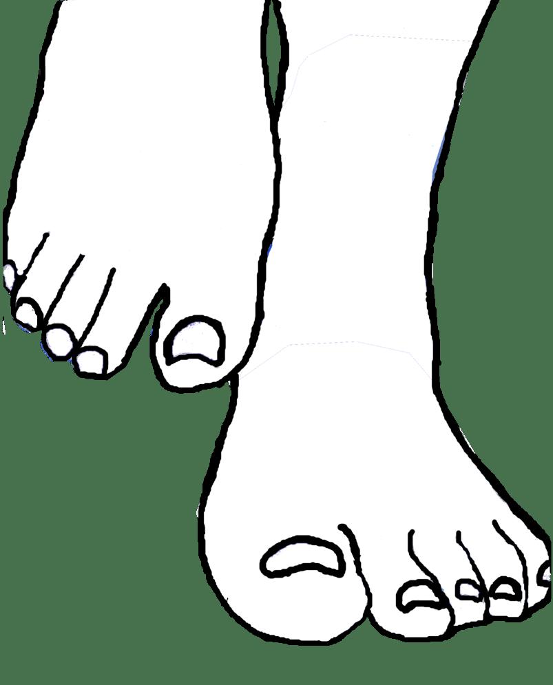 Free Feet Template, Download Free Clip Art, Free Clip Art