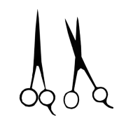 free hair scissors vector