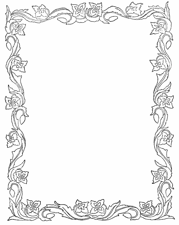 Free Free Printable Border Designs For Paper Black And
