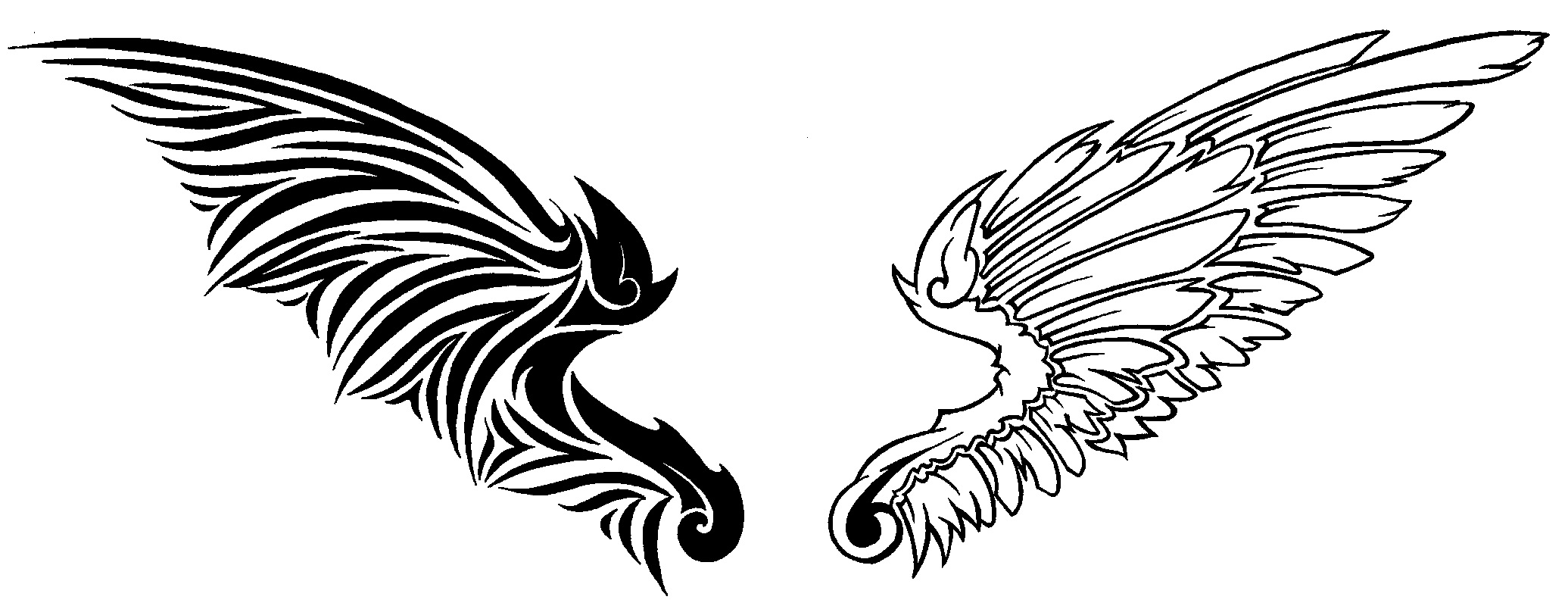 Clipart Library More Artists Like Angel Wings Design By