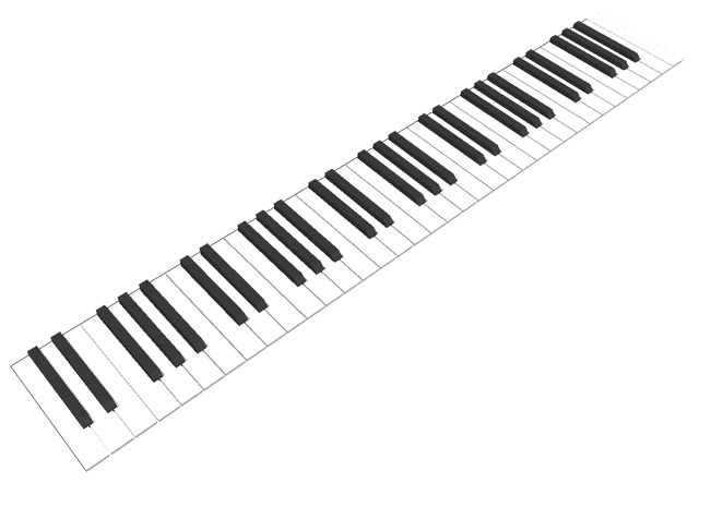 Free Piano Keys Png, Download Free Clip Art, Free Clip Art