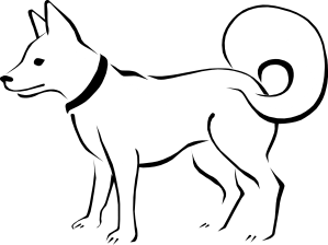 dogs drawings clipart dog drawing easy pencil clip library