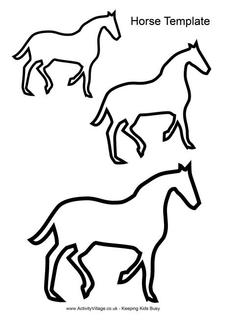 Free Printable Horse Outline, Download Free Clip Art, Free