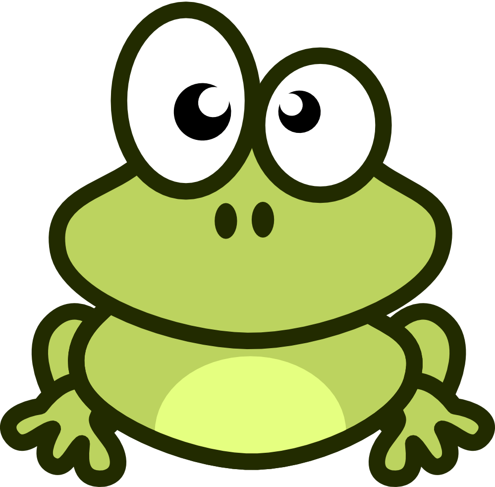 free cartoon frogs clipart