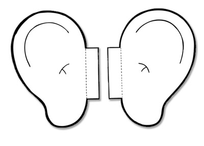 Free My Listening Ears Template, Download Free Clip Art