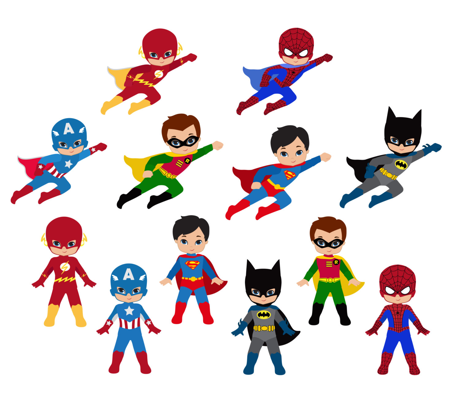 hight resolution of digital download discoveries for superhero from easypeach