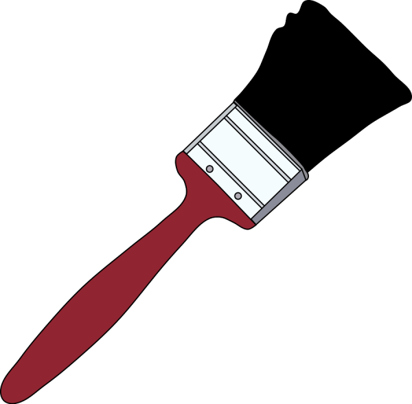 Free Of Paint Brush Clip Art Clipart Library