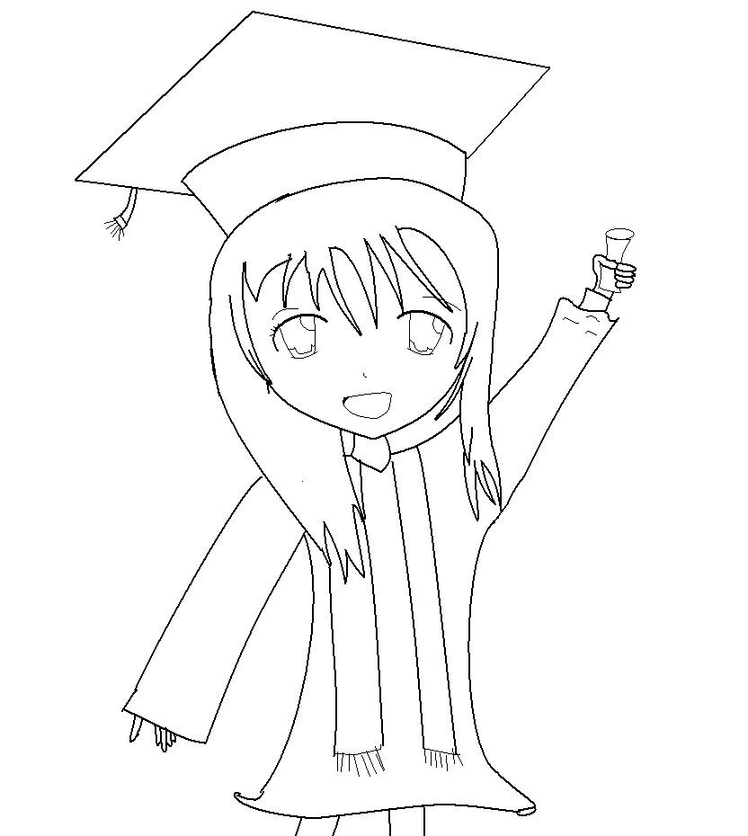 Free Graduation Drawing, Download Free Clip Art, Free Clip