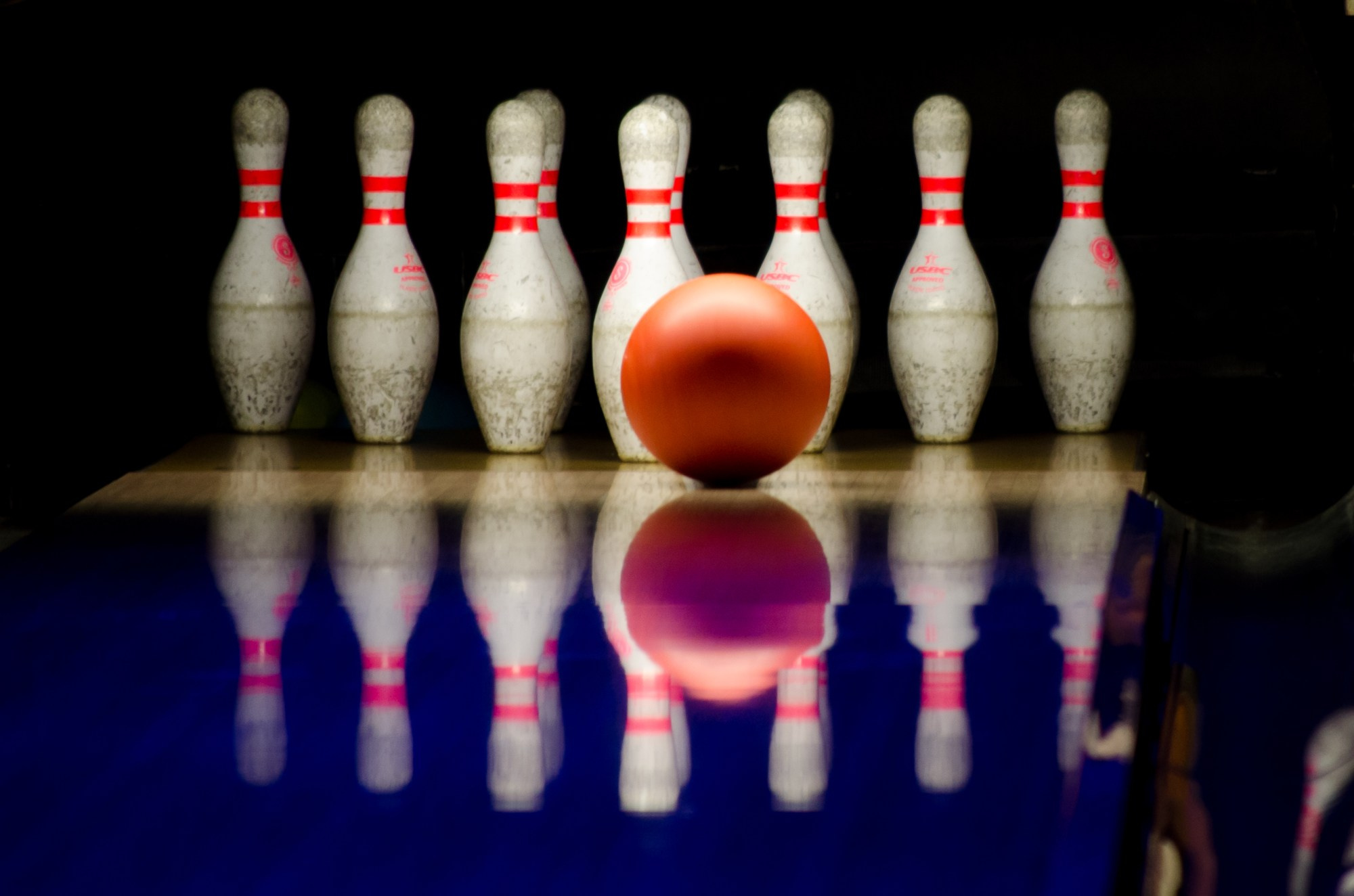 hight resolution of public domain images bowling alley red ball white pins lane