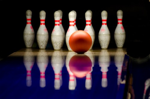 small resolution of public domain images bowling alley red ball white pins lane
