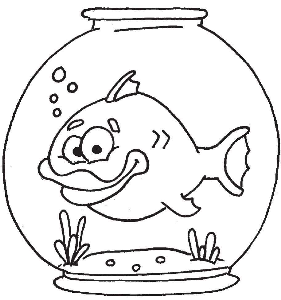 Free Fish Bowl Template, Download Free Clip Art, Free Clip