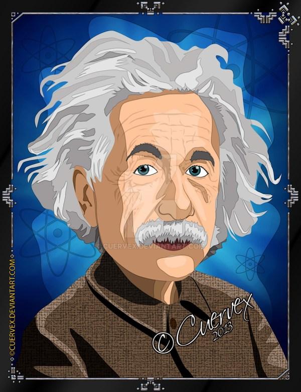 Albert Einstein Cartoon Cuervex Clipart Library