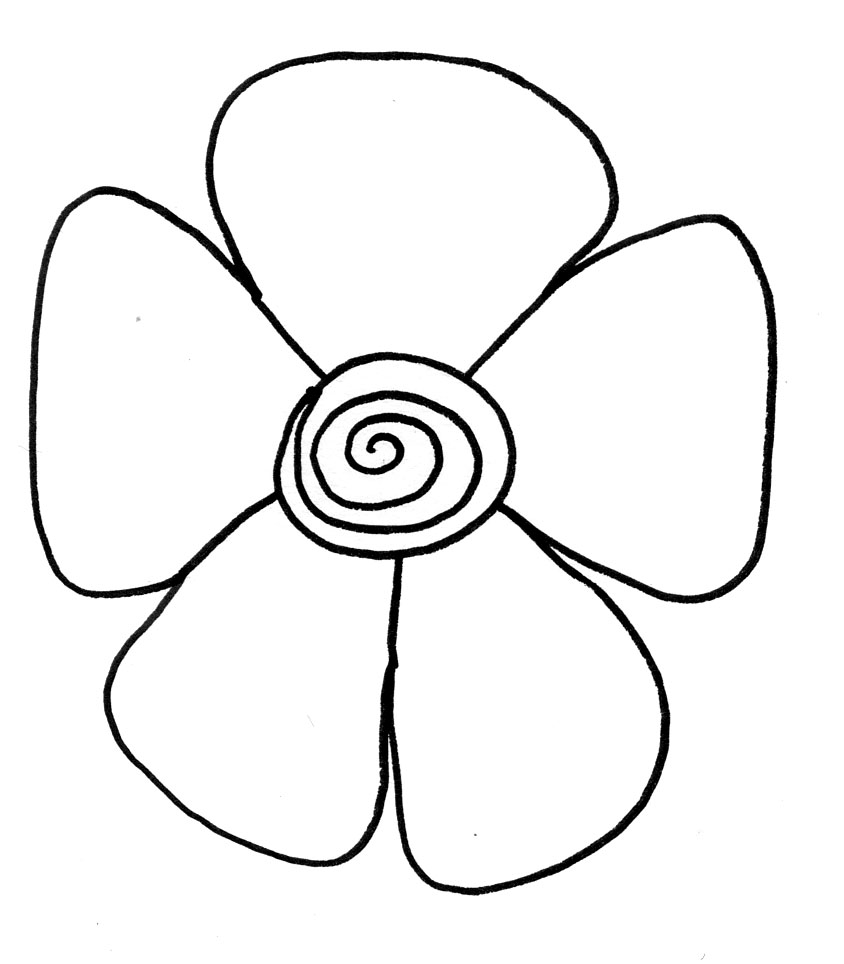 Free Flowers Drawing For Kids, Download Free Clip Art