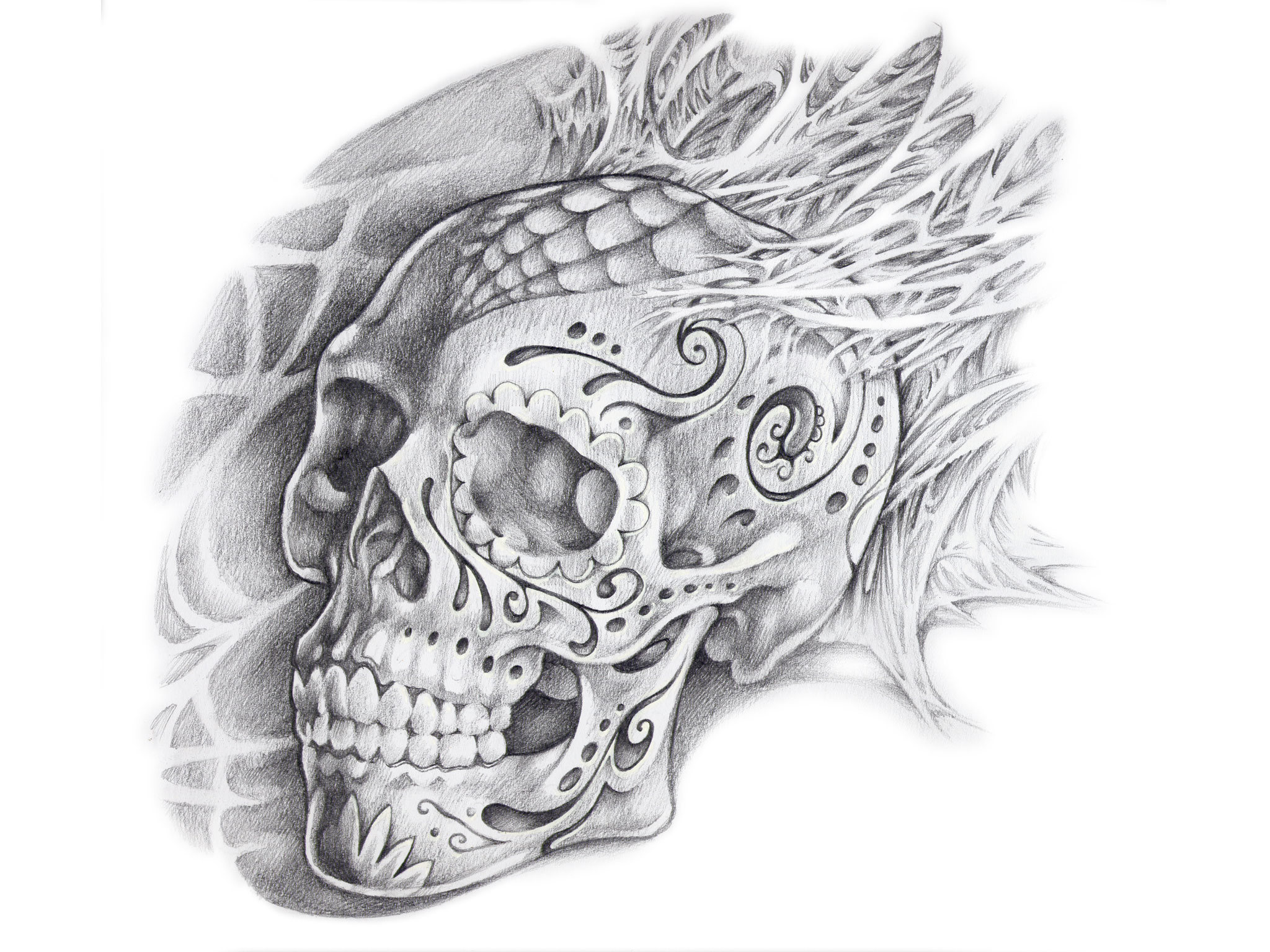 Sugar Skull Tattoo Ideas For Men